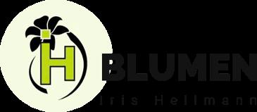 Blumen Iris Hellmann - Logo